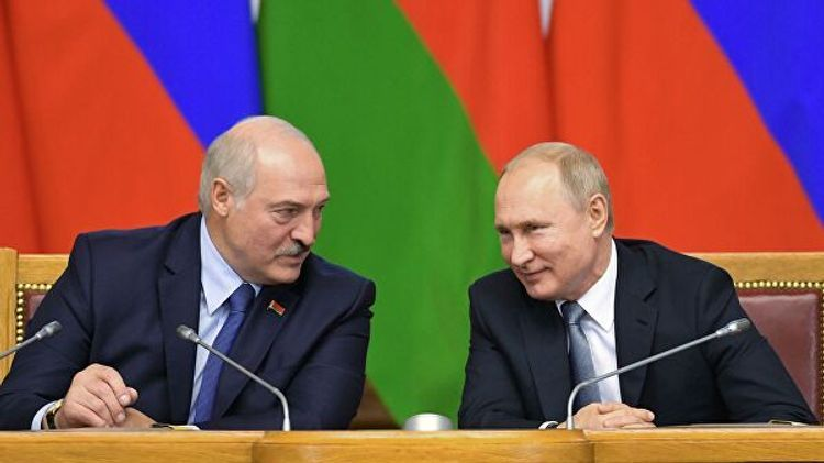 На переговорах Путина и Лукашенко внезапно погас свет