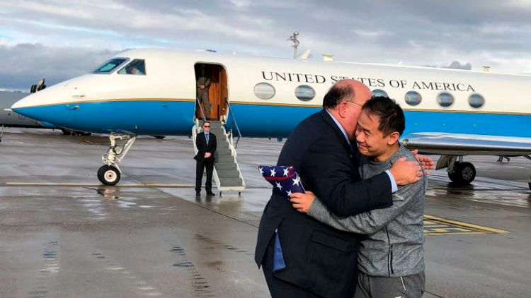 Trump thanks Iran for 'very fair' negotiation on prisoner release