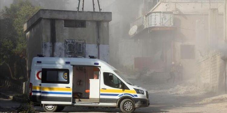 İdlibdə hava zərbələri nəticəsində 11 mülki şəxs ölüb