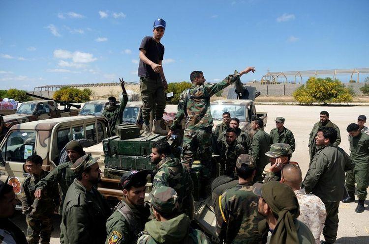 Силы ПНС Ливии заявили, что сбили истребитель армии Хафтара