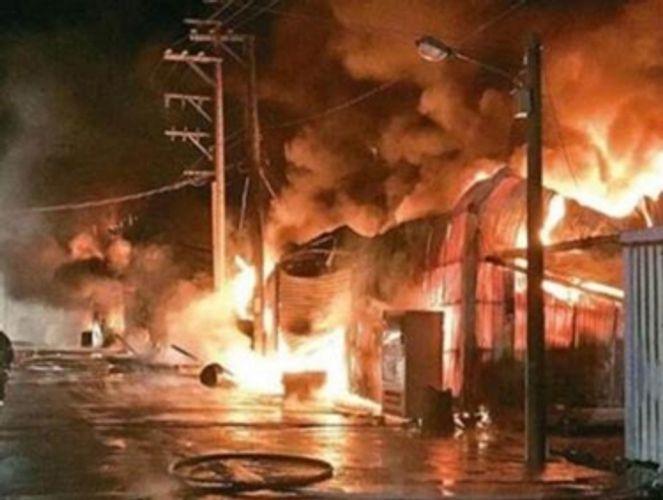 Hindistanda zavodda yanğın nəticəsində ölənlərin sayı 43 nəfərə çatıb - YENİLƏNİB