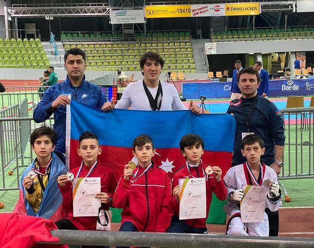 Azərbaycan taekvondoçuları Avropa birinciliyində 7 medal qazanıb