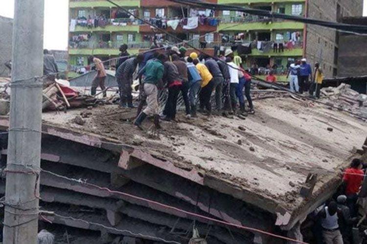 Keniyada binanın çökməsi nəticəsində ölənlərin sayı 7 nəfərə çatıb