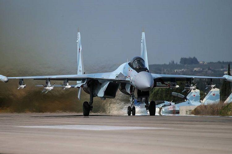 Российские Су-35 перехватили истребители Израиля
