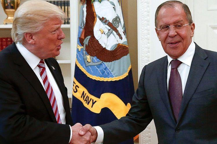 Ağ Ev Trampla Lavrovun görüşünün təşkil edilməsi üzərində işləyir