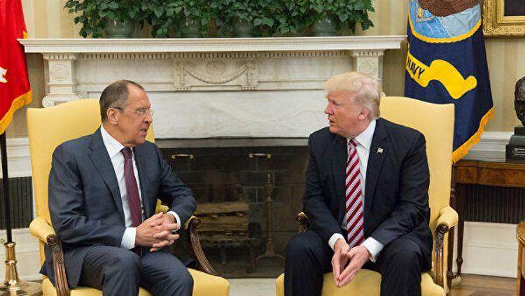 Возможность встречи Трампа и Лаврова подтвердили в Белом доме