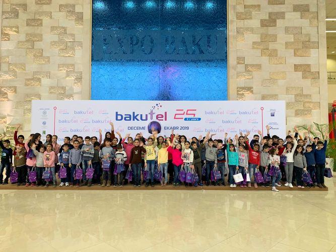 """""""Bakutel 2019"""" sərgisində rekord sayda izləyici qeydə alınıb - FOTO"""