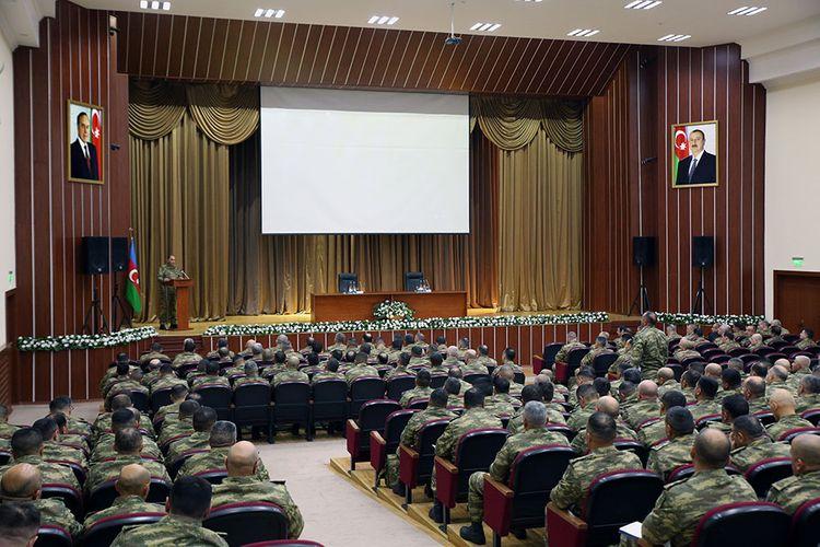 Azərbaycan Ordusunun komandir heyətinin toplanışı keçirilir