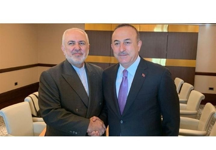 Türkiyə və İran XİN başçıları arasında görüş olub