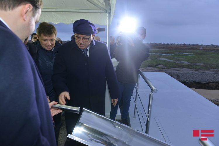 В Азербайджане заложен фундамент «Сервисного центра вертолетов» - ФОТО