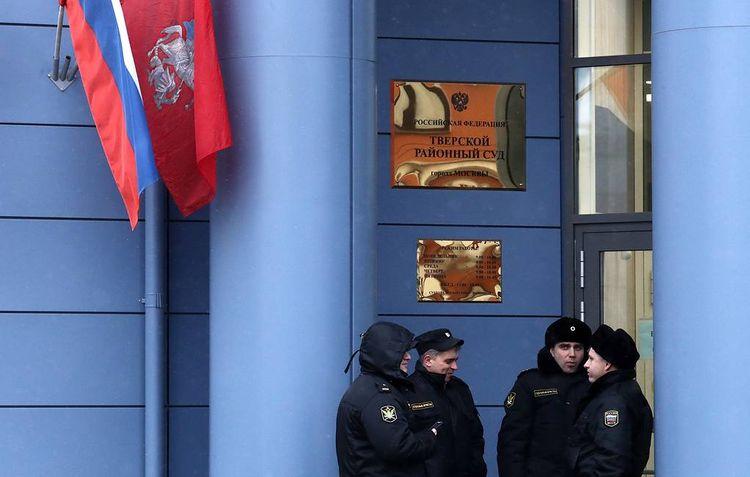 Moscow court sentences participant in July 27 unauthorized rally to 3 years behind bars