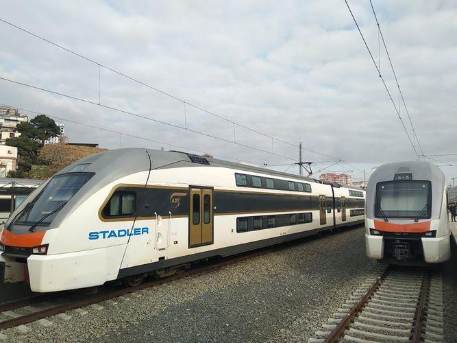 «Азербайджанские железные дороги» приобрели два новых поезда
