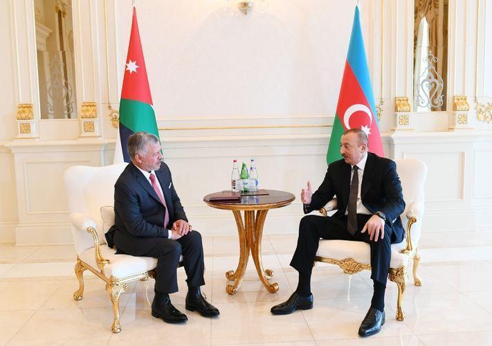 Состоялась встреча президента Азербайджана с королем Иордании - ОБНОВЛЕНО