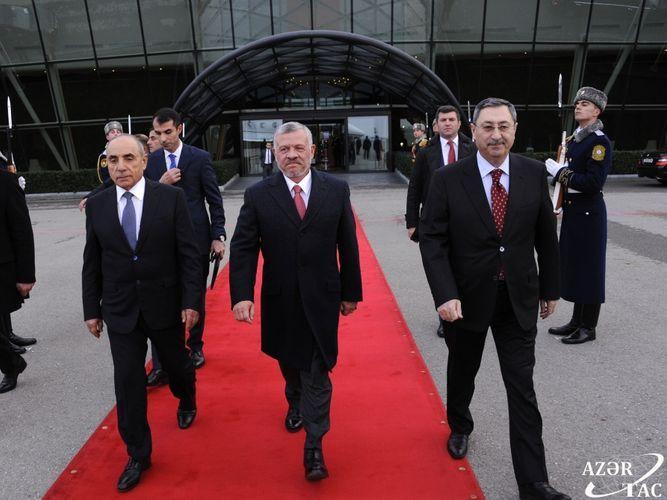 Завершился официальный визит короля Иордании в Азербайджан