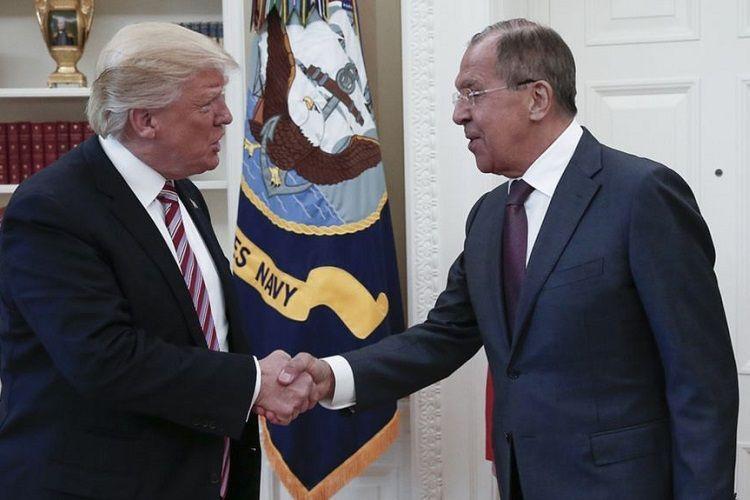 В Вашингтоне прошли переговоры Дональда Трампа и Сергея Лаврова