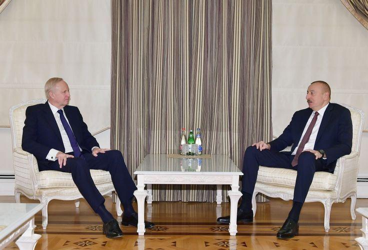 Azerbaijani President receives BP CEO - UPDATED