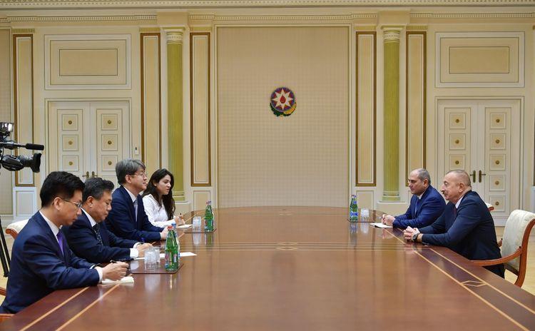 Президент Ильхам Алиев принял председателя Комитета статистики Республики Корея - ОБНОВЛЕНО