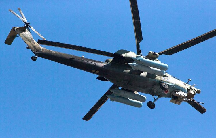 Ministry: Mi-28 military helicopter crashes in Russia