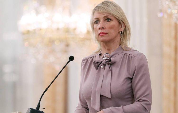 """Maria Zakharova: """"Lavrov"""
