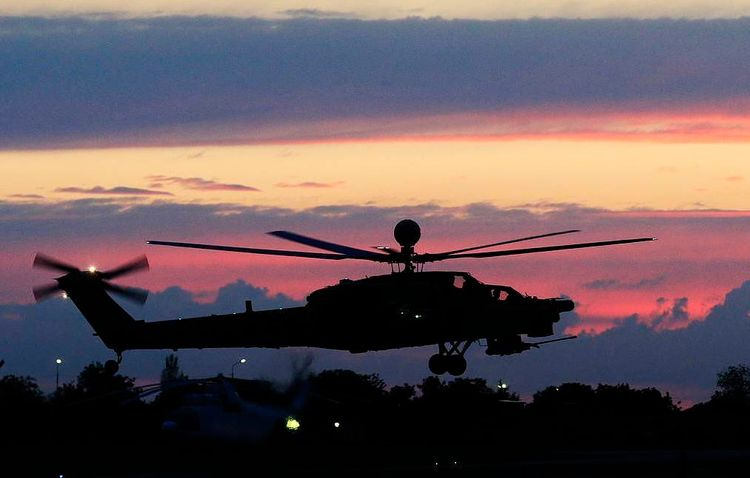 Flight data recorders from Mi-28 military helicopter found