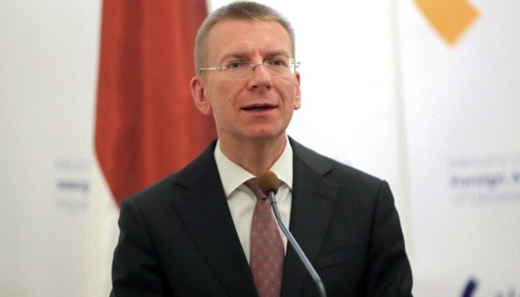 """Latvian FM: """"Our position is determined, Nagorno Garabagh conflict should be resolved within framework of international law"""""""