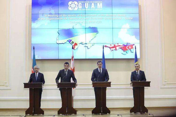 Георгий Гахария: Председательство  Азербайджана в ГУАМ будет продуктивным и эффективным