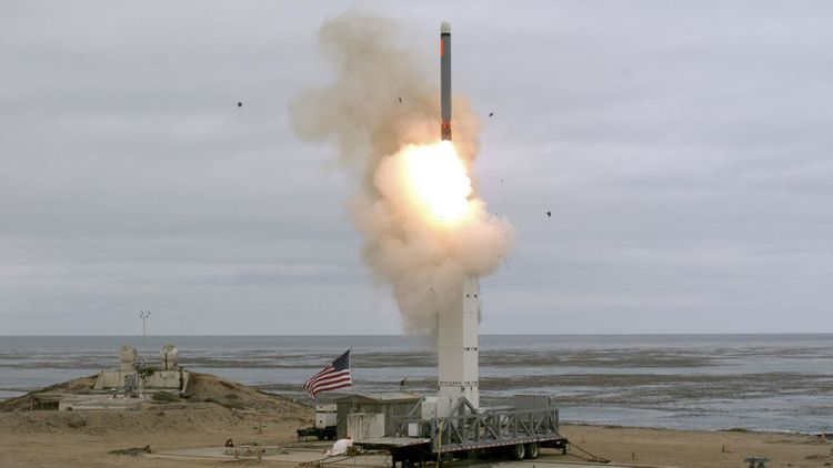 US has carried out test of medium-range missile - UPDATED