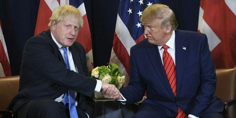 Трамп поздравил Бориса Джонсона с победой на выборах