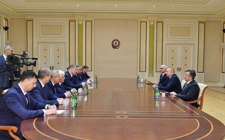 Президент Ильхам Алиев принял губернатора Астраханской области РФ - ОБНОВЛЕНО