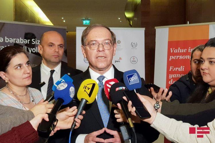 Посол США: Мы с большим уважением относимся к независимости и суверенитету Азербайджана