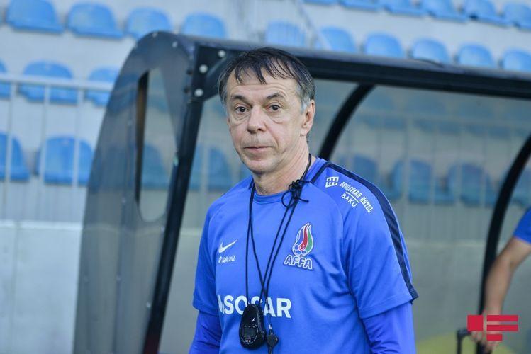 Chief coach of Azerbaijani national football team Nikola Yurcevic dismissed