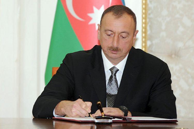 Президент Ильхам Алиев подписал распоряжение о тридцатой годовщине трагедии 20 января