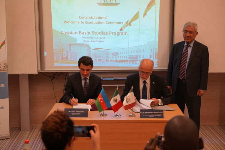 Mexico and Azerbaijan signed MoU on academic-diplomatic cooperation