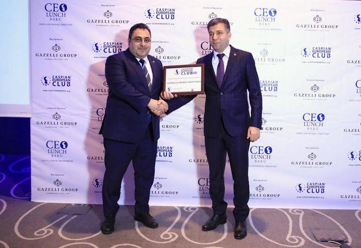 Caspian European Club и  ПО «Азеригаз» организовали СEO Lunch Baku