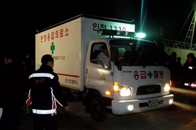 Cənubi Koreyada bir neçə avtomobilin toqquşması nəticəsində 6 nəfər ölüb