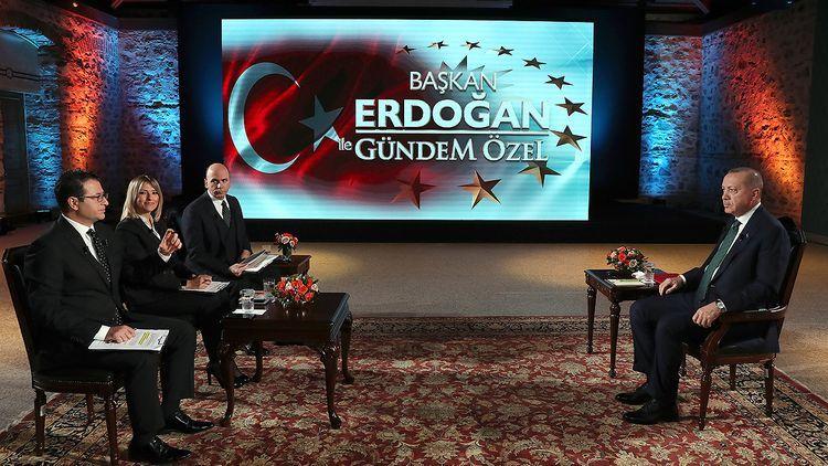 Эрдоган будет смотреть матчи финала ЕВРО-2020 в Баку