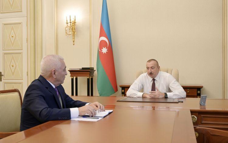 Президент:  В настоящее время Азербайджан полностью обеспечивает себя электроэнергией