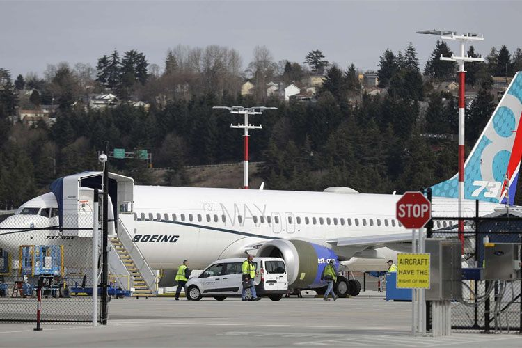 """""""Boeing"""" gələn ildən """"737 MAX"""" tipli təyyarələrin istehsalını dayandırmaq qərarına gəlib"""