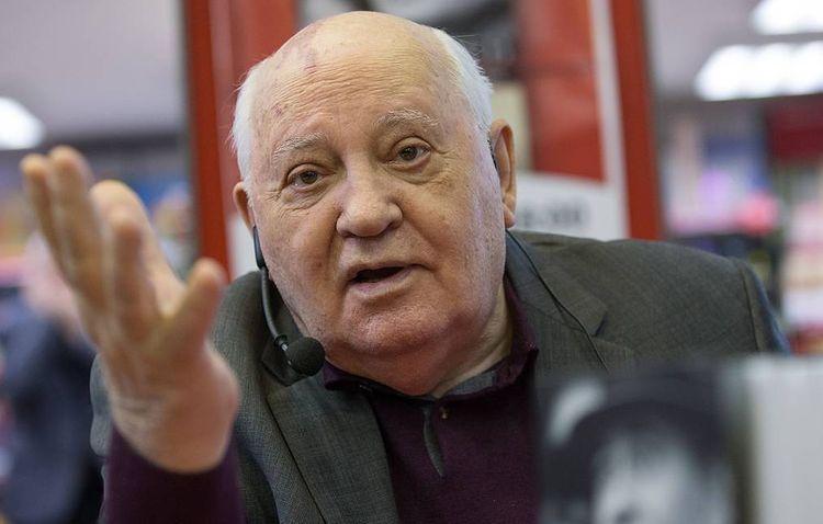 Former USSR president Gorbachev accuses US of seeking global military dominance