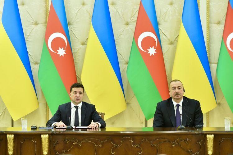 Зеленский: Азербайджан и Украина поддерживают друг друга в вопросе восстановления территориальной целостности и суверенитета