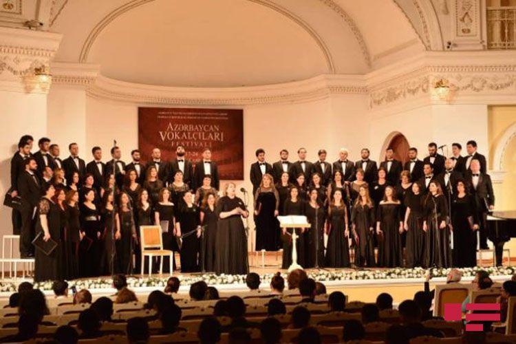 Azərbaycan Vokalçıları Festivalının açılışı olub