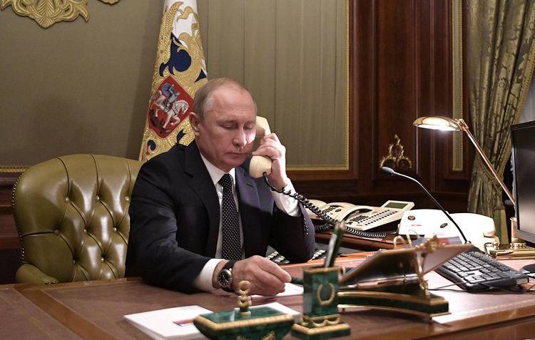 Putin and Macron held telephone conversation
