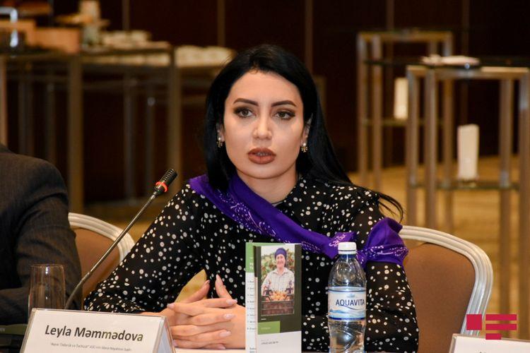 """Leyla Məmmədova: """"2021-ci ilədək 500-ə yaxın fermer aqroturizm sektoruna cəlb olunacaq"""""""