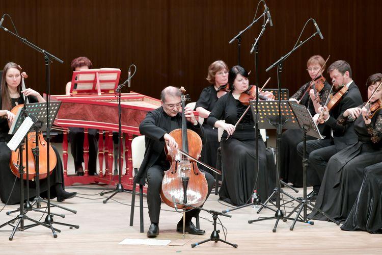 """Heydər Əliyev Mərkəzində """"Musica Viva"""" Moskva Kamera Orkestrinin konserti keçirilib"""