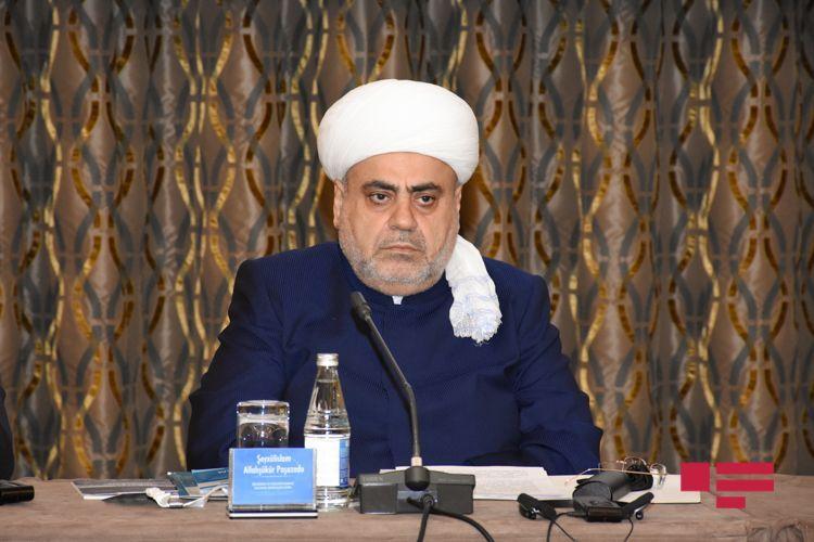 Аллахшукюр Пашазаде: Азербайджан находится в центре внимания всего мира, как объединяющее различные религии государство