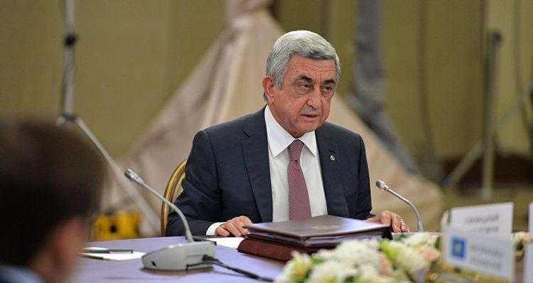 Property of ex-President of Armenia Sargsyan seized