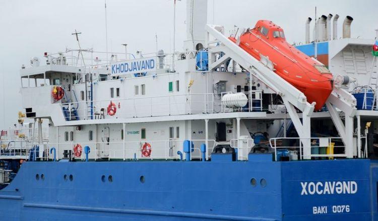 """""""Xocavənd"""" tankeri təmirdən sonra istismara verilib"""