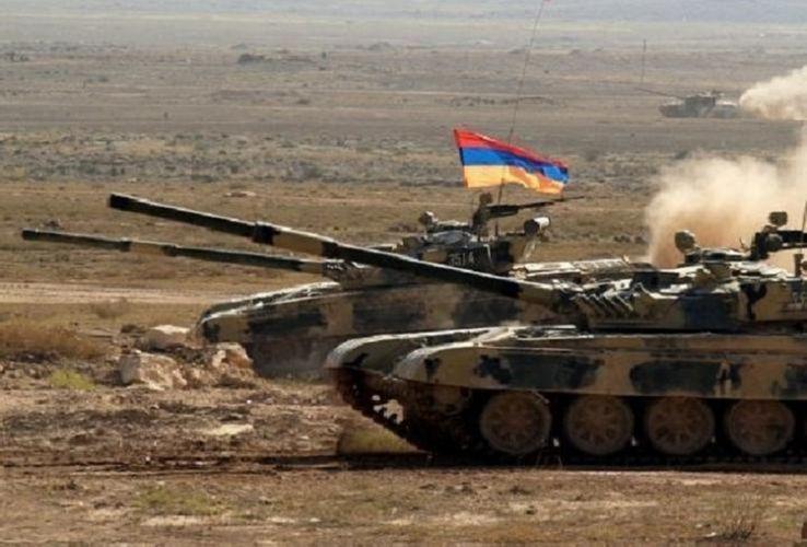 ВС Армении проводят учения на оккупированных территориях Азербайджана