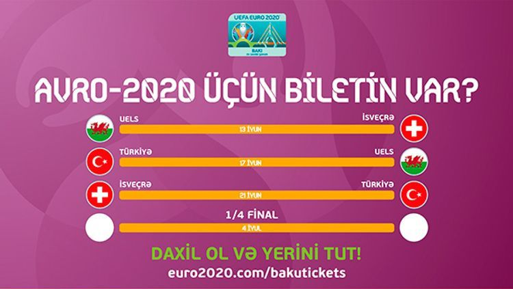 Direct sale phase of EURO-2020 tickets starts