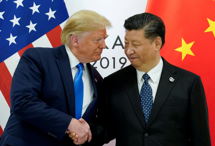 In phone call with Trump, China